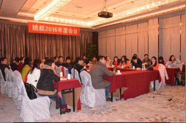 婧麒2016年度会议现场