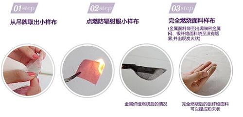 燃烧布料法