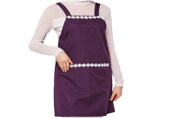深紫色防辐射服