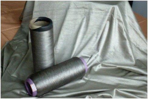 银纤维防辐射服面料