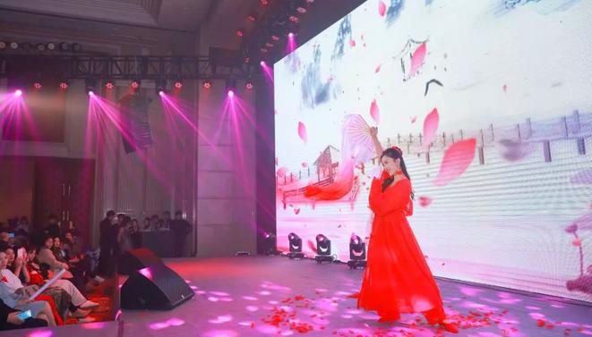 2019婧麒年会舞蹈节目:牵丝戏